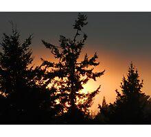 Grey Sunset Photographic Print