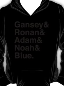 Raven Boys Ampersand (Black) T-Shirt