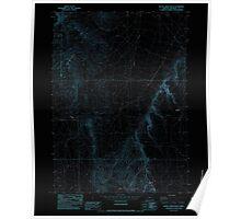 USGS Topo Map Oregon Battle Creek Ranch 278956 1982 24000 Inverted Poster