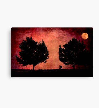 Moon Ride Canvas Print