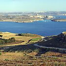 Panorama of Gozo Channel by M G  Pettett