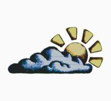 Sun Cloud One Piece - Short Sleeve