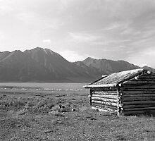 Cabin at Silver City - Yukon Territory by Harry Snowden