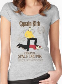 Original Space Drunk Women's Fitted Scoop T-Shirt