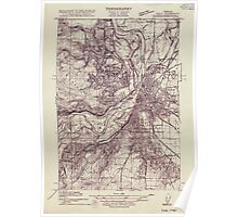 USGS Topo Map Oregon Eola 282175 1915 31680 Poster