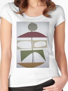 Collage 301 Women's Fitted Scoop T-Shirt