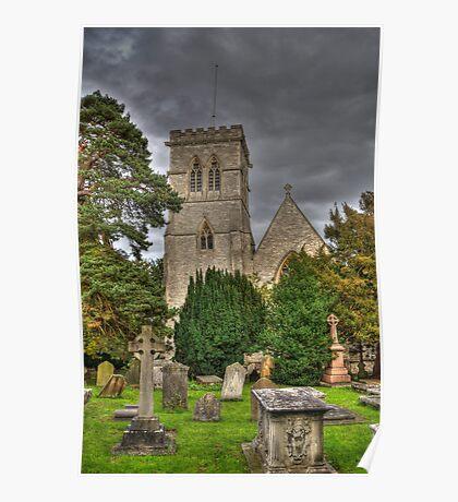 St John the Evangalist Stanmore Poster