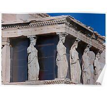 athens acropolis Poster