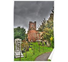 The Brick Church Ruins Stanmore Poster