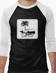 Surf's Up Men's Baseball ¾ T-Shirt