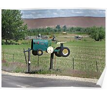 Mailbox in Potatoeville.........Idaho Poster