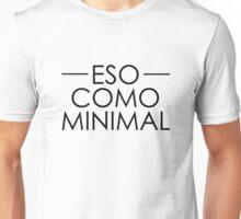 ESO COMO MINIMAL Unisex T-Shirt