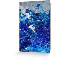 artistic creations with glass Greeting Card