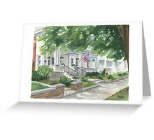 Caldwell House Bed and Breakfast Greeting Card