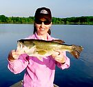 LaDue Bass  by Marcia Rubin