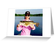 LaDue Bass  Greeting Card