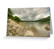 The Rock Outcrop Greeting Card