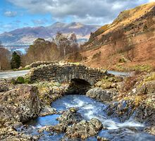 Ashness Bridge, The English Lake District by David Henderson