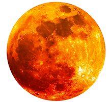 Blood Moon - Lunar Eclipse  by Atanas Bozhikov NASKO