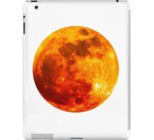 Blood Moon - Lunar Eclipse  iPad Case/Skin