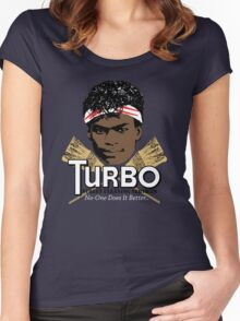 Turbo Street Cleaning Services Women's Fitted Scoop T-Shirt