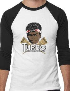 Turbo Street Cleaning Services Men's Baseball ¾ T-Shirt