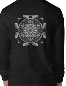 Metatron_Chakra_Yantra - Antar Pravas 2011 - Visionary Art Long Sleeve T-Shirt