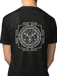 Merkabha_Yantra - Antar Pravas 2011 - Visionary Art Tri-blend T-Shirt