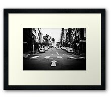 Go For It! Framed Print
