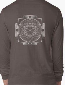 Platonic_Yantra - Antar Pravas 2011 - Visionary Art Long Sleeve T-Shirt