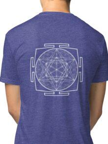 Platonic_Yantra - Antar Pravas 2011 - Visionary Art Tri-blend T-Shirt