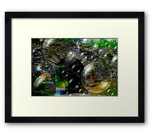 Stones & Bubbles, Oh Yeah... Framed Print