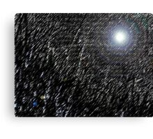 Night in Space Canvas Print