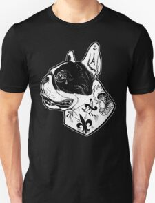 Tattooed French Bulldog Unisex T-Shirt