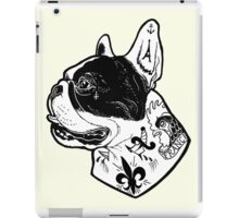 Tattooed French Bulldog iPad Case/Skin