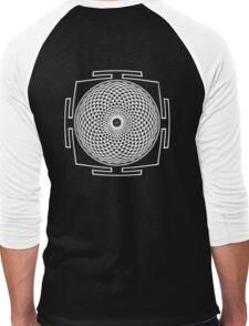 SAHASRARA_YANTRA - Antar Pravas 2011 - Visionary Art Men's Baseball ¾ T-Shirt