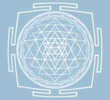 Shri_Yantra - Antar Pravas 2011- Visionary Art One Piece - Short Sleeve