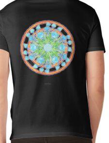Sporophore_Mandala - Antar Pravas 2011 - Visionary Art Mens V-Neck T-Shirt