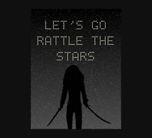 Let's Go Rattle The Stars! Womens Fitted T-Shirt