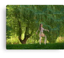 The Willow Ballet Canvas Print