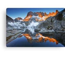 Iceberg Lake Sunrise Canvas Print