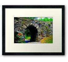 Stone Bridge No. 2 Framed Print