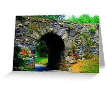 Stone Bridge No. 2 Greeting Card