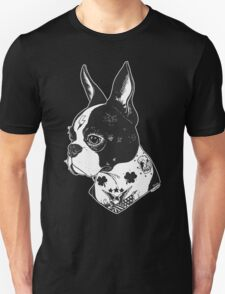 Tattooed Boston Terrier  T-Shirt