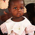 Haitian Girl by Kent Nickell