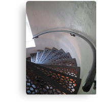 Lighthouse Stairwell Canvas Print