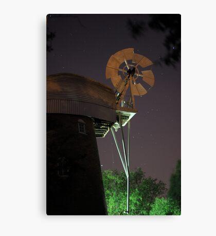 Stock Windmill Canvas Print