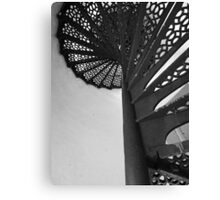 Lighthouse Stairwell 5 Canvas Print
