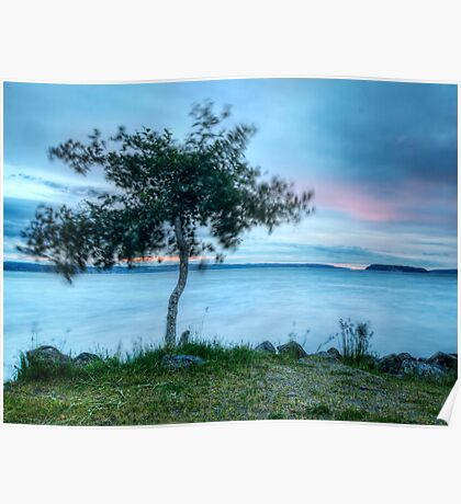 The Barely There Sunset Poster