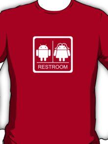 Droid Restroom T-Shirt